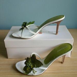 BCBGirls SANUYE Sandals Heels Green - 8.5M